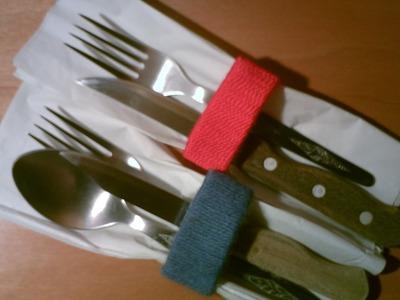 Como hacer un servilletero con rollos de papel