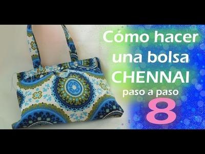 Cómo hacer una bolsa de tela. CHENNAI. paso a paso. TUTORIAL. parte 8. Inerya viris