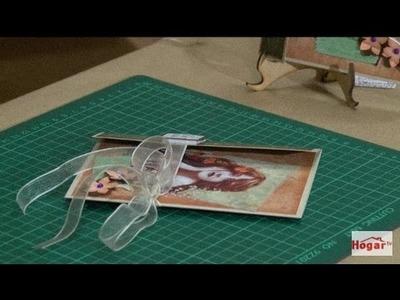 Como hacer una Tarjeta Tríptica en Scrapbooking- Hogar Tv  por Juan Gonzalo Angel