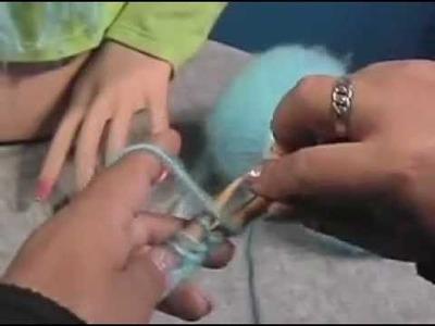Curso macrame y tejidos de chalinas