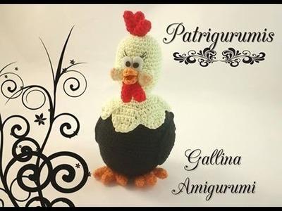 DIY Gallina amigurumi - Crochet