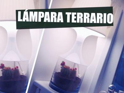 DIY: LÁMPARA TERRARIO