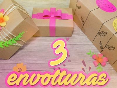 DIY: Las ENVOLTURAS para regalos mas lindas | ESPECIAL PARA MAMÁ