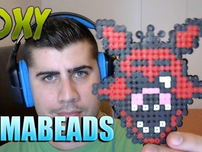 Foxy | Hama Beads | Como hacerlo paso a paso | Five Nights At Freddy´s | FNAF |