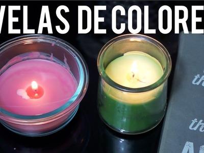 Haz Velas de Colores | Super Facil