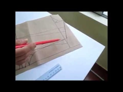 Molde de blusa básica sin pinzas