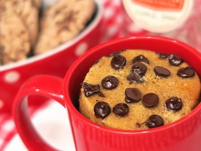 Mug Cake de Chips Ahoy | Cookie | 1 Minuto en el Microondas!
