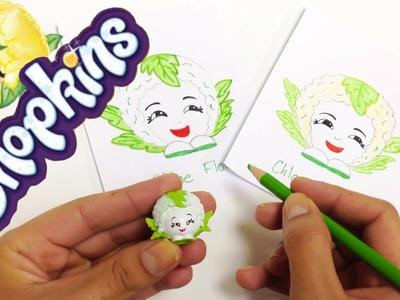 Shopkins en español\como dibujar shopkins Chloe Flower