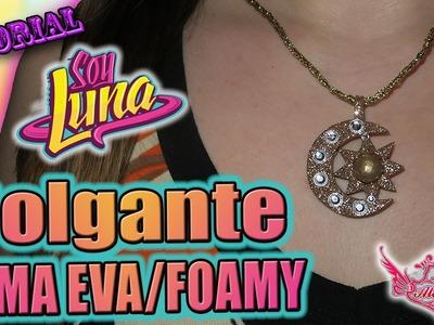 """♥ Tutorial: Colgante.Collar de """"Soy Luna"""" [MUY FÁCIL] ♥"""