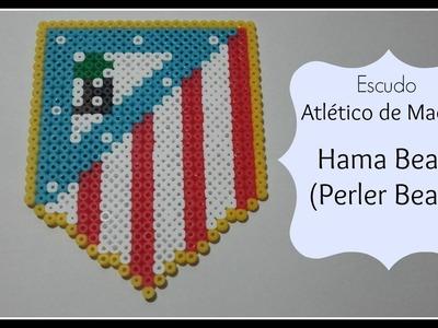☆☆ TUTORIAL: Escudo ATLÉTICO de Madrid con Hama Beads ☆☆