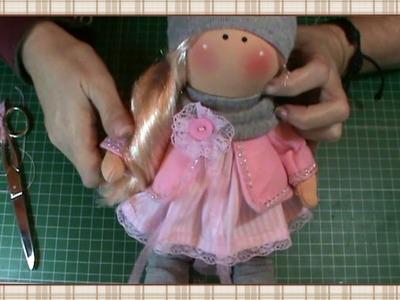 Tutorial muñeca rusa: Maquillaje y flor