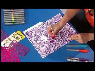 Amparin Serrano nos da ideas para decorar Folders