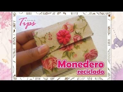 Dia de las madres - monedero - DIY - tetrapack - VideoTips