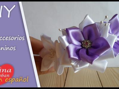 El videotutorial de la diadema lila . Аlina Boloban