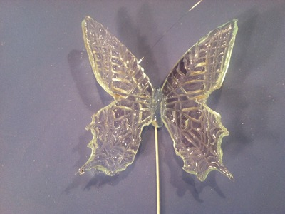 Mariposas de azúcar (isomalt)