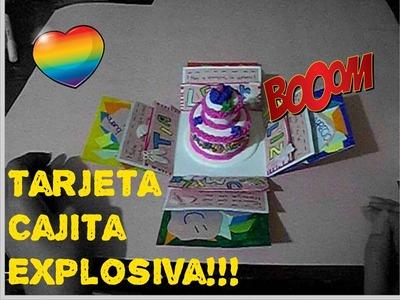 Tarjetas de cumpleaños - Cajita Explosiva - parte 1 - The Colors