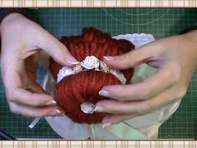 Tutorial muñeca de comunión: Peinado