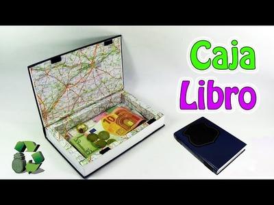 209. Manualidades: Como hacer una Caja Libro (Reciclaje) Ecobrisa
