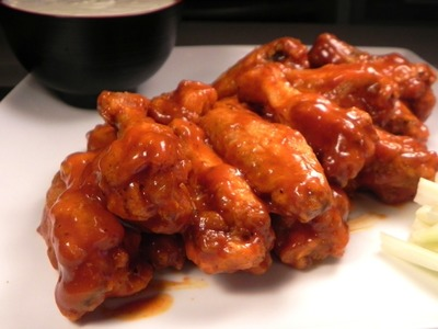 Alitas de pollo picantes caseras y paso a paso. Hot buffalo wings, homemade and step by step