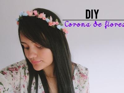 Como hacer Corona de Flores | Laura Trujillo