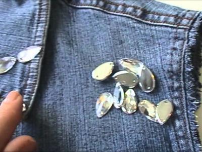 DIY | Mis creaciones | de chaqueta denim a chaleco