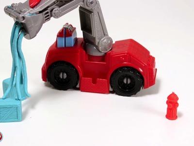 El camión de Bomberos de Play-Doh (Hellokids)