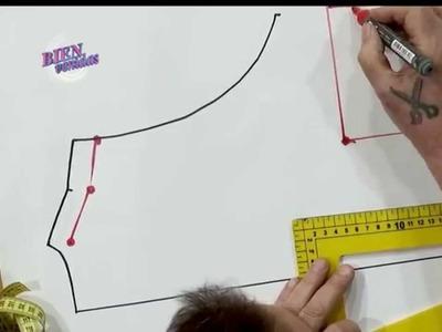 Hermenegildo Zampar - Bienvenidas TV en HD - Explica el molde de un vestido musculosa