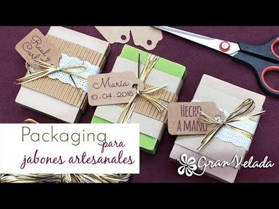 Packaging para jabones artesanales