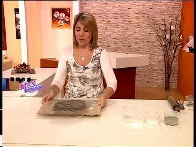 Silvina Buquete - Bienvenidas TV - Plato con Venecitas