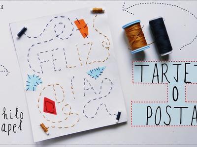 Tarjeta de felicitación (Manualidades para el Día del Padre o Madre)