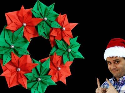 Adorno de navidad │ Origami