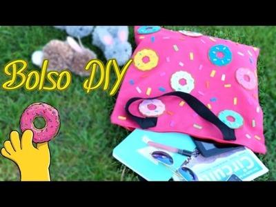Bolso de donas fácil y sin coser - tutorial - DIY - Isa ❤️