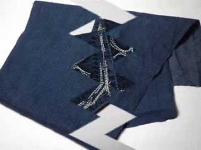 Como forrar tu cuaderno con tela jean