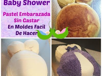 Cómo Hacer Pastel De Embarazada En Chantilly Muy Fácil! - Madelin's Cakes