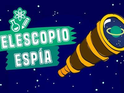 Como Hacer un Telescopio (Experimento Casero) - Los Creadores