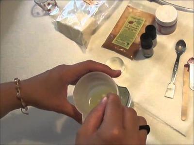 Cómo hacer una vela en un vasito