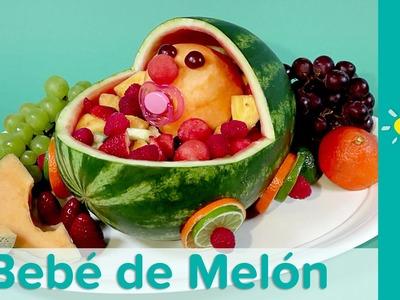 DIY Comida para Baby Shower: Bebé Melón | Pampers