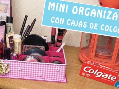 MINI ORGANIZADOR con cajas de COLGATE