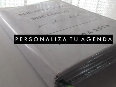 Personaliza tu Agenda 2016