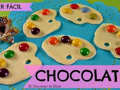Regalos para el Día del Padre, Regalos para el Día de la Madre, Chocolates Paleta de Pintor.Pintora