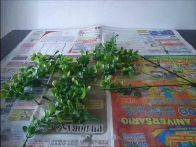Árbol para pesebre DIY