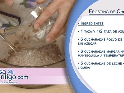 Como hacer un frosting o cobertura de chocolate