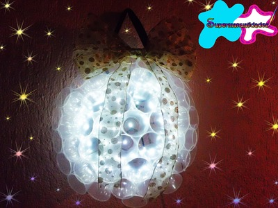 Esfera de luces gigante (decoración navideña) ✪SUPERMANUALIDADES✪