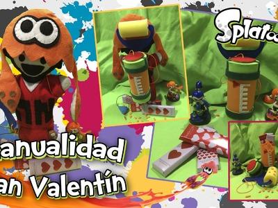 [Manualidad] Especial San Valentín - ¡Tanque de Splatoon!