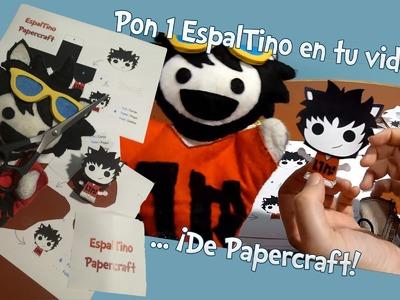 """Manualidad: Pon 1 @EspalTino en tu vida con su versión """"Cartoñeco"""""""