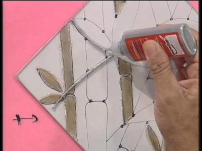 MONITOR | Delia Digiorgio utiliza lacas vitrales y tridimensional | Manos a la Obra