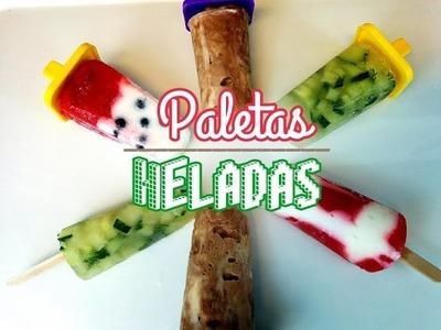 Paletas Congeladas De Frutas | Faciles y Deliciosas | SOY CAT