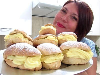 PAN DE LECHE - CONEJITOS CON CREMA PASTELERA - Silvana Cocina ❤