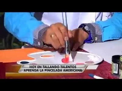 Tecnicas de Pintura - Pinturas Acrílicas de diferentes Colores y Pinceles de cerdas Suaves