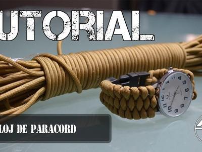 Tutorial | Reloj de paracord - Air Soldier